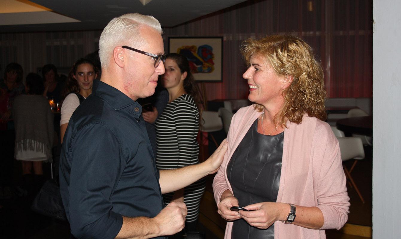 Ingrid Huijskens met Rudolph van Veen