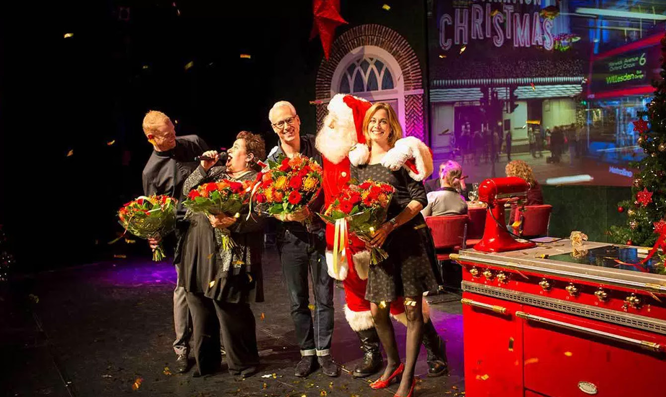 Decor Theatervoorstelling Rudolph's Christmas