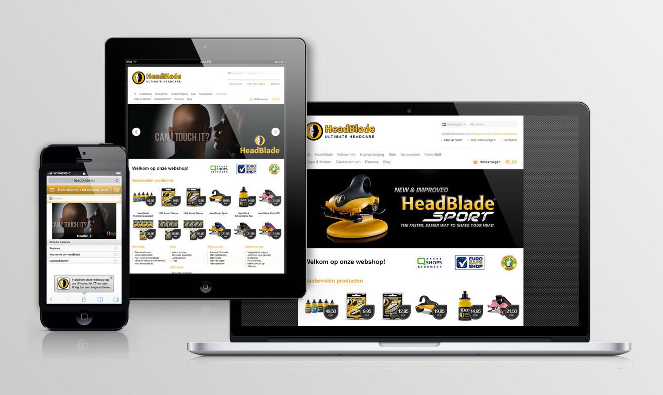 Webshop Headblade