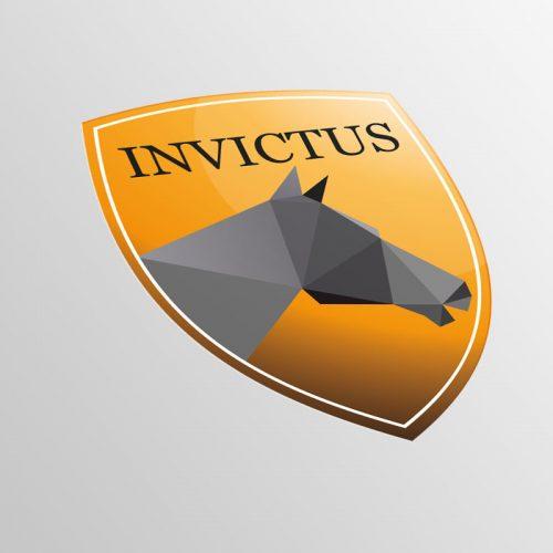 Logoconcept Invictus paarden pensionstalling