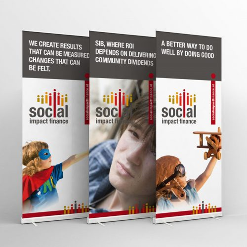 Rollup Banners - Social Impact Finance