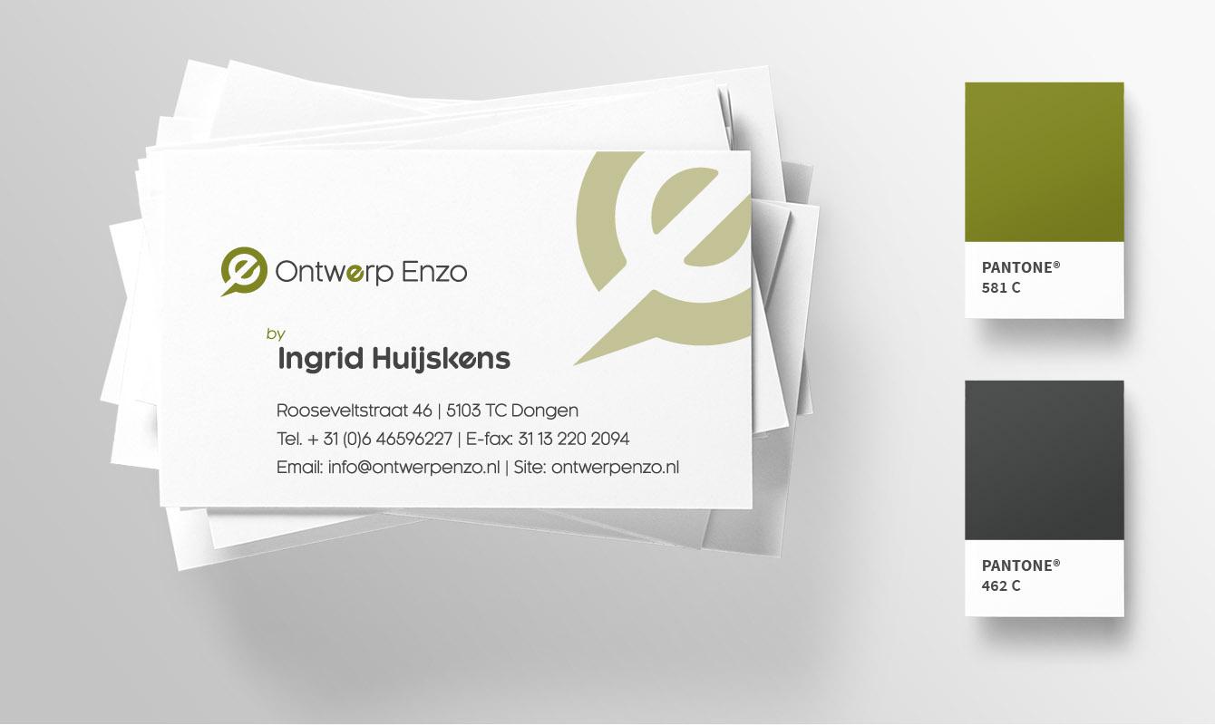 Visitekaartje Ontwerp Enzo